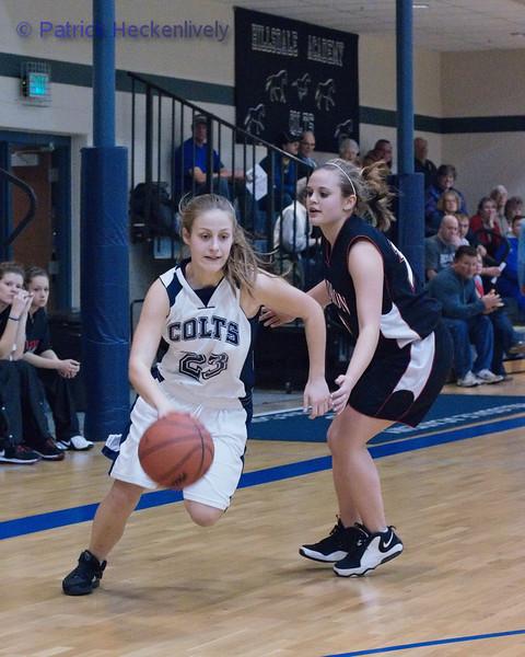 2011-02-17 Girl's JV and Varsity Basketball