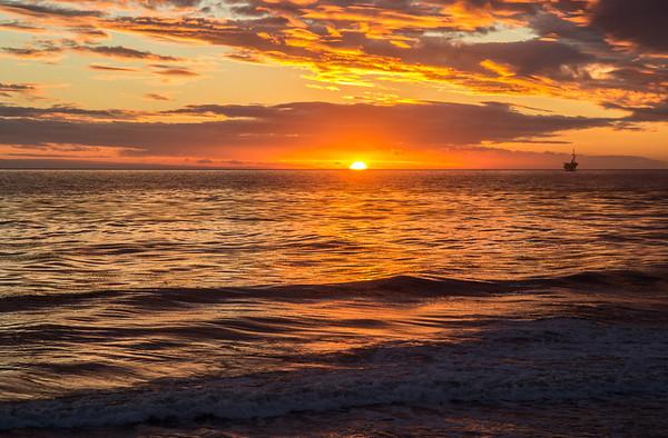 Sunset in Goleta_Nov 29, 2013