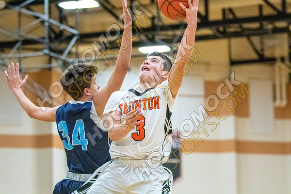 Taunton-Franklin Boys Basketball - 01-10-20