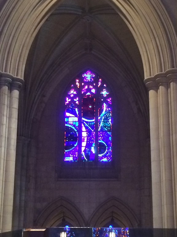 2014 DC National Cathedral Moon Window