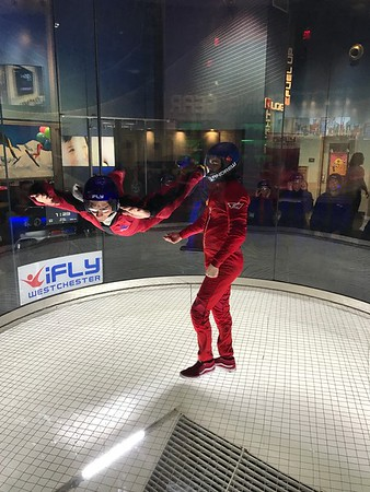 Rob's 60th at iFly