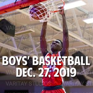 Prairie Boys Basketball, December 27, 2019