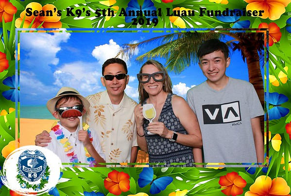 5th Annual Sean's K-9s Luau Fundraiser