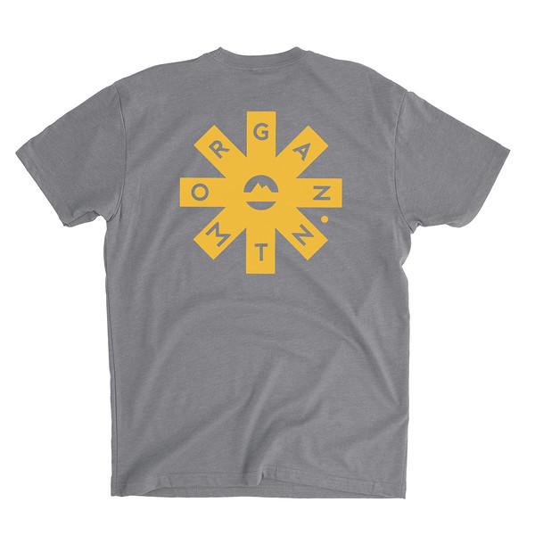 Organ Mountain Outfitters - Outdoor Apparel - Mens T-Shirt - Organ Mtn Lost & Found Tee - Dark Grey Heather Back.jpg