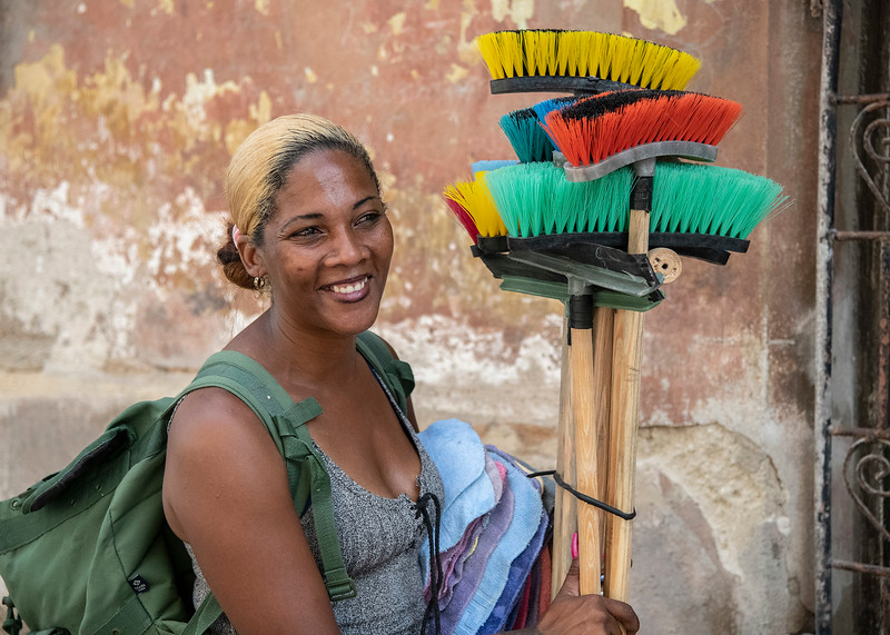 Broom Lady