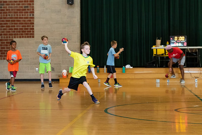 Jump Start Sports Camp Plays Dodgeball
