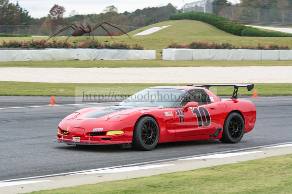 RL 10 Red Corvette