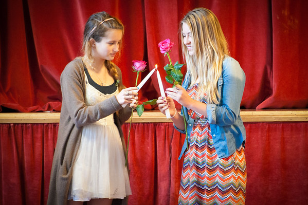 8th Grade Rose Ceremony - Last Day of School