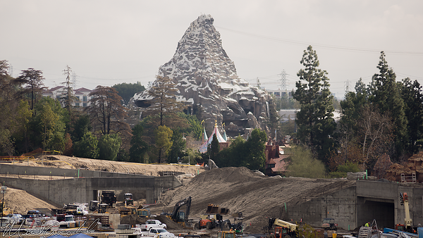 Disneyland Resort, Disneyland, Mickey and Friends Parking Structure, Mickey, Friends, Parking, Star Wars Land, Frontierland, Critter Country, Rivers Of America, Rivers, River, America