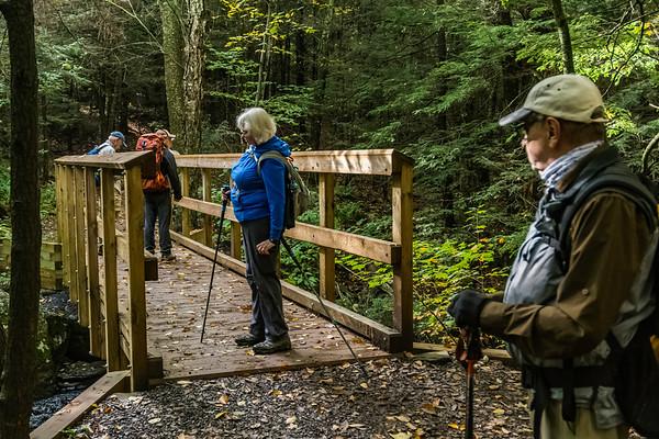 escarpment trail & kaaterskill falls 0ct 2018