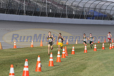 3 Mile Mark - D2 Boys 2015 MHSAA LP XC