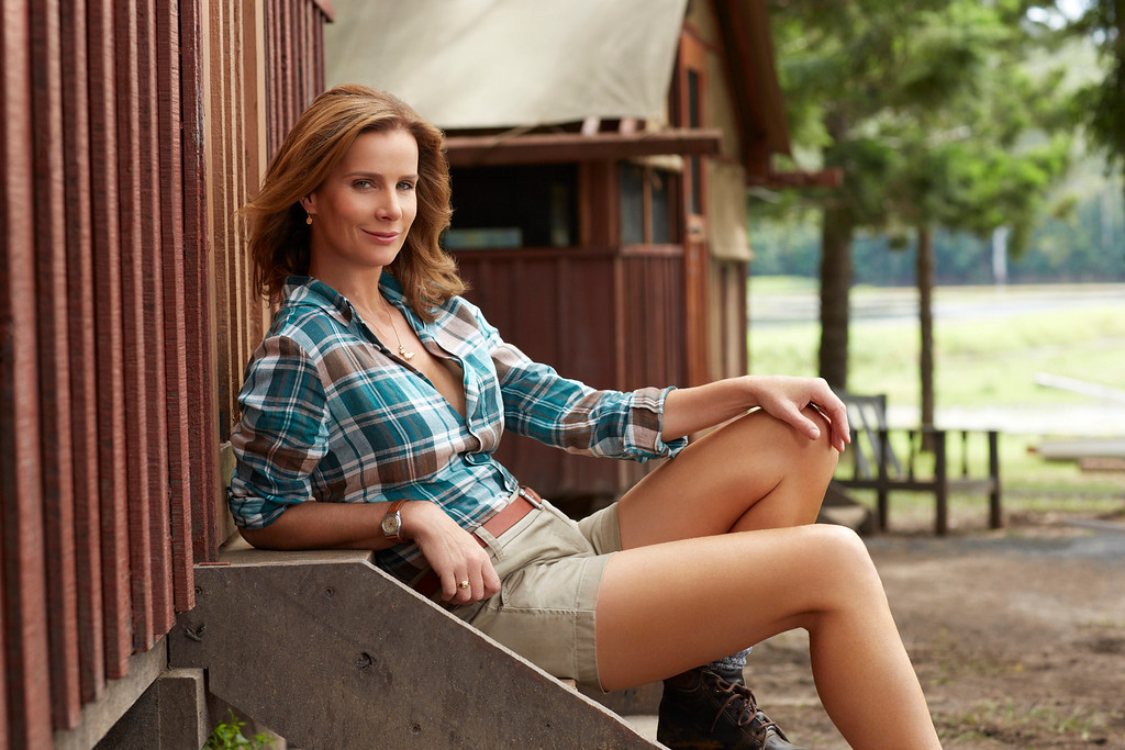 ". CAMP -- Season: 1 -- Pictured: Rachel Griffiths as Mackenzie ""Mack\"" Granger -- (Photo by: John Tsiavis/NBC)"