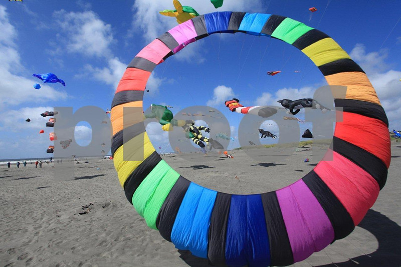The world class annual kite festival in Long Beach, Washington State.