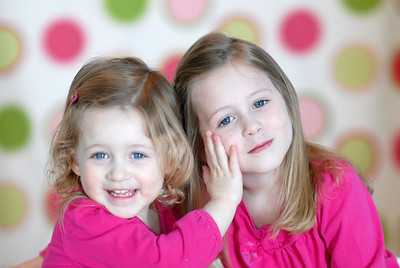 Kaitlyn + Averee w/Polka Dots!