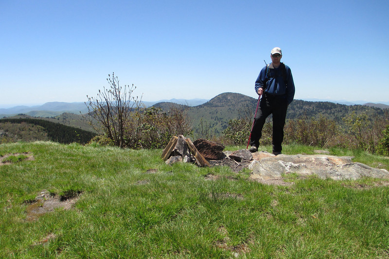 Sam Knob Summit (South Summit) - 6,050'