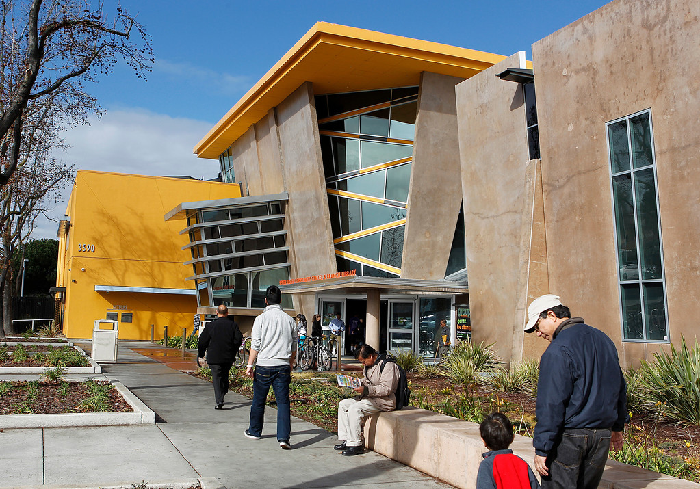 . Seven Trees Branch Library, in San Jose, Calif. on Saturday, January 26, 2013.   (LiPo Ching/Staff)
