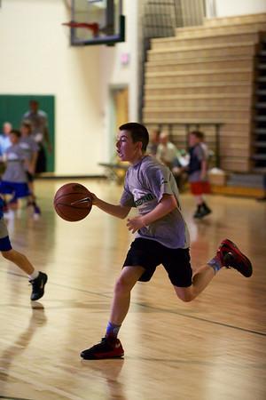 Elite Hoops Blessed Trinity Camp