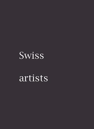 Swiss artists
