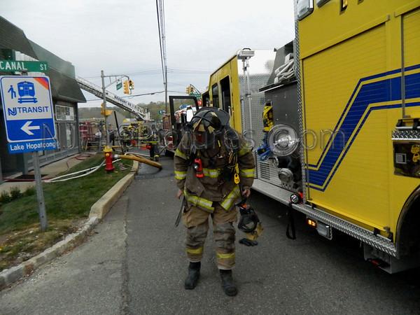 ROXBURY, NJ WORKING FIRE 1 LANDING ROAD 4/18/12