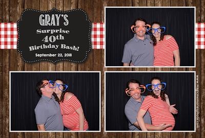 Gray's 40th Birthday