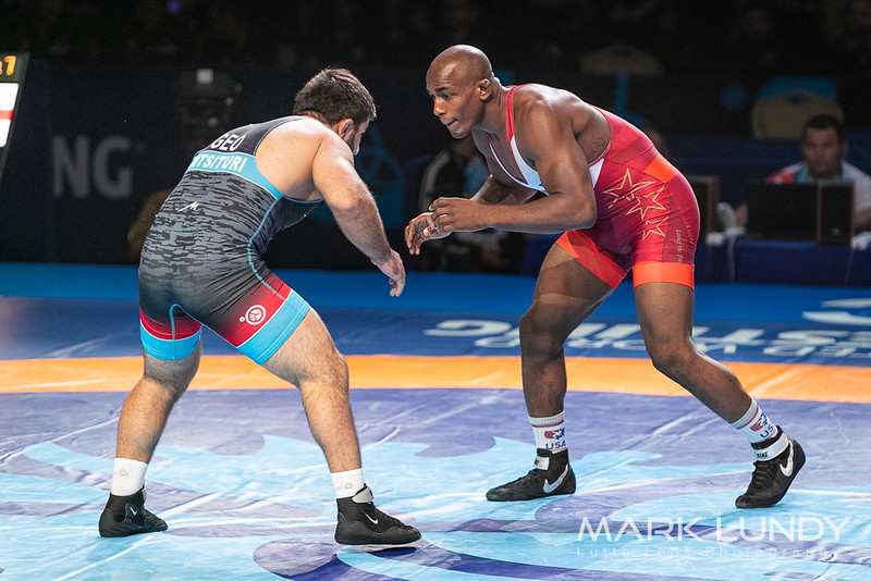 Semifinal: J`Den Cox (United States) over Irakli Mtsituri (Georgia)  •  Dec 3-0 - 2019 World Championships