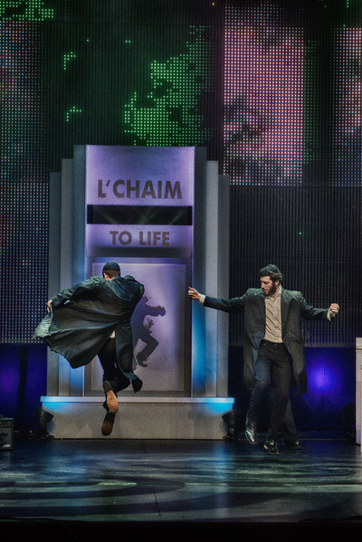 dancing on the telethon stage Joshie and Elie Engleson.jpg