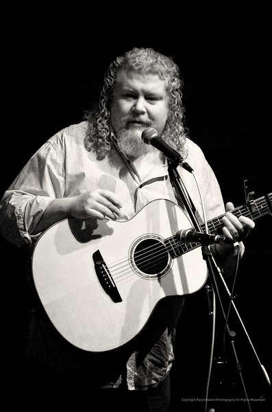 Joe Jencks at the Tarrytown Music Hall in infrared