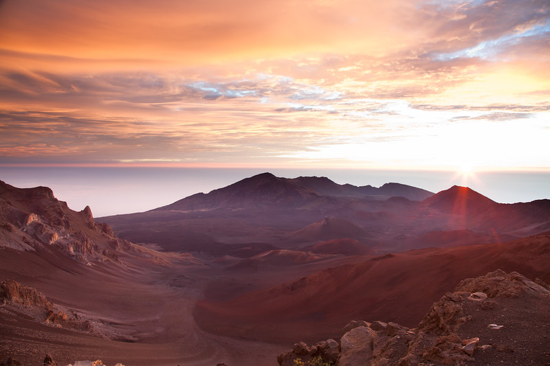 Sunrise at Haleakala, Maui, Hawall