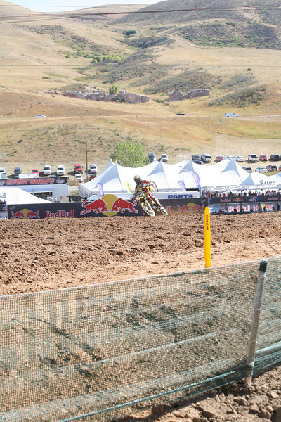 Dungey up the start straight