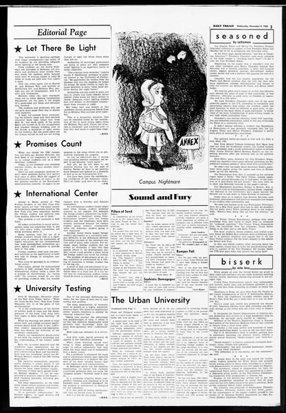 Daily Trojan, Vol. 52, No. 37, November 09, 1960