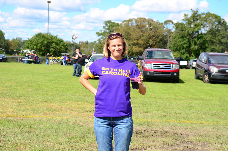 10/1/2011 ECU vs North Carolina  Stephanie