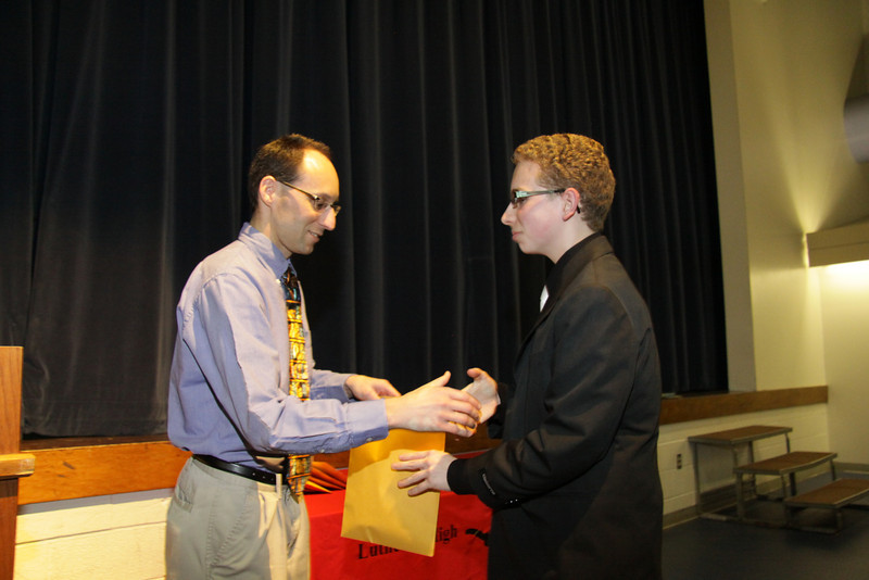 Awards Night 2012: Student of the Year - World History