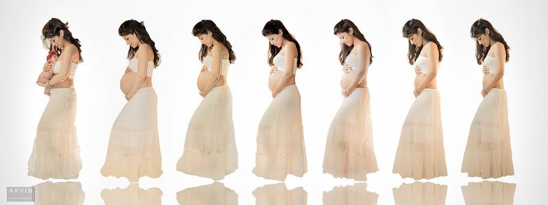 Noosha Pregnancy Progression
