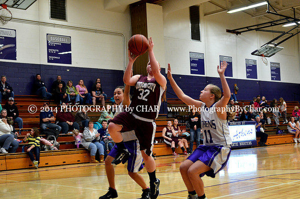 Union City vs Athens 8th Grade Girls Basketball