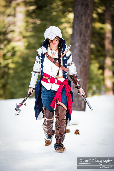 Connor (Lady Staba) from Assassin's Creed III