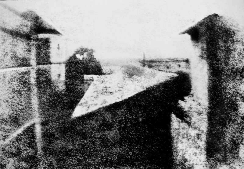 Oldest Surviving Camera Photograph