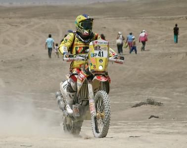 Dakar 2013, Stage 3, Pisco-Nazca