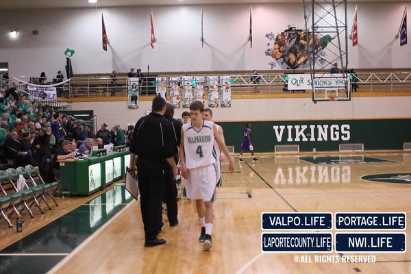 ValpoLife Night at VHS Boys Varsity Basketball Game vs Merrillville 2-15-13