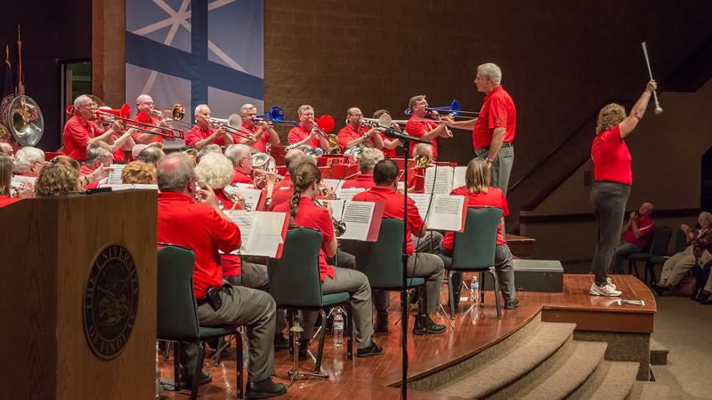 Trombone chorus on Stars & Stripes Forever - a crowd favorite all season