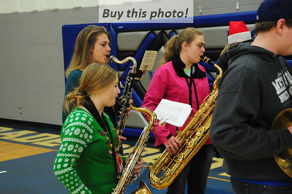 BBE band Christmas caroling 12-20