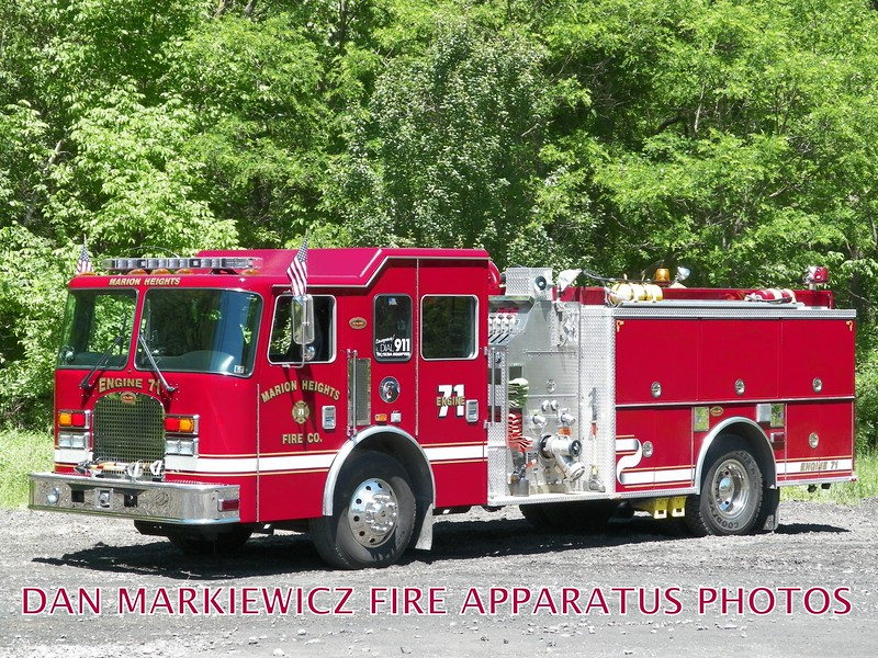 MARION HEIGHTS FIRE CO.