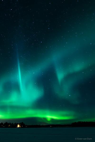 Northern Lights, Mieluskyla, 24.12.2016 I