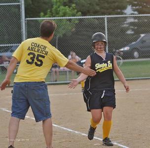 20110717 Sleepy Eye vs Essig Jr. Bi-County Softball