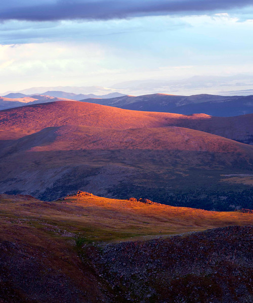 Magical Light Mount Evans, CO