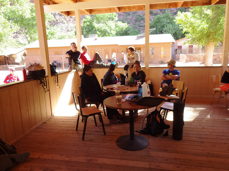 Breakfast at Supai village