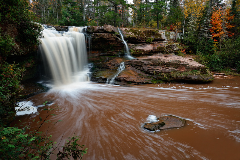 O Kun De Kun Falls (Baltimore River - Upper Michigan)