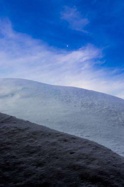 Lassen Snow Drifts