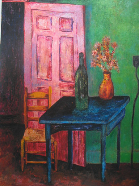 SLANTED DOOR BLUE TABLE wine to go