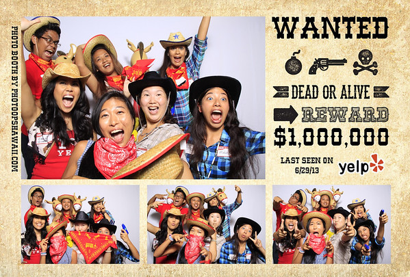 Yelp - Wild Wild West Party (Fusion Portraits)