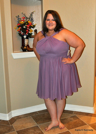 2014 02-10 Bridesmaid dress for Spenser's wedding in August